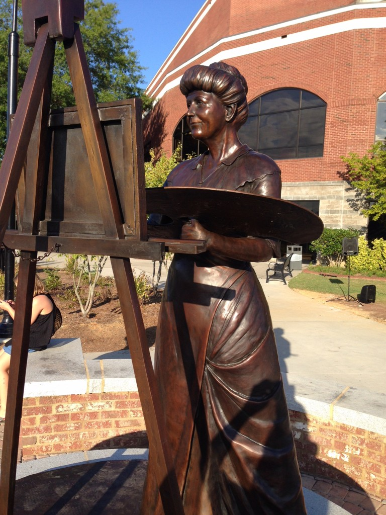 First Lady Ellen Wilson Bronze Statue Commission