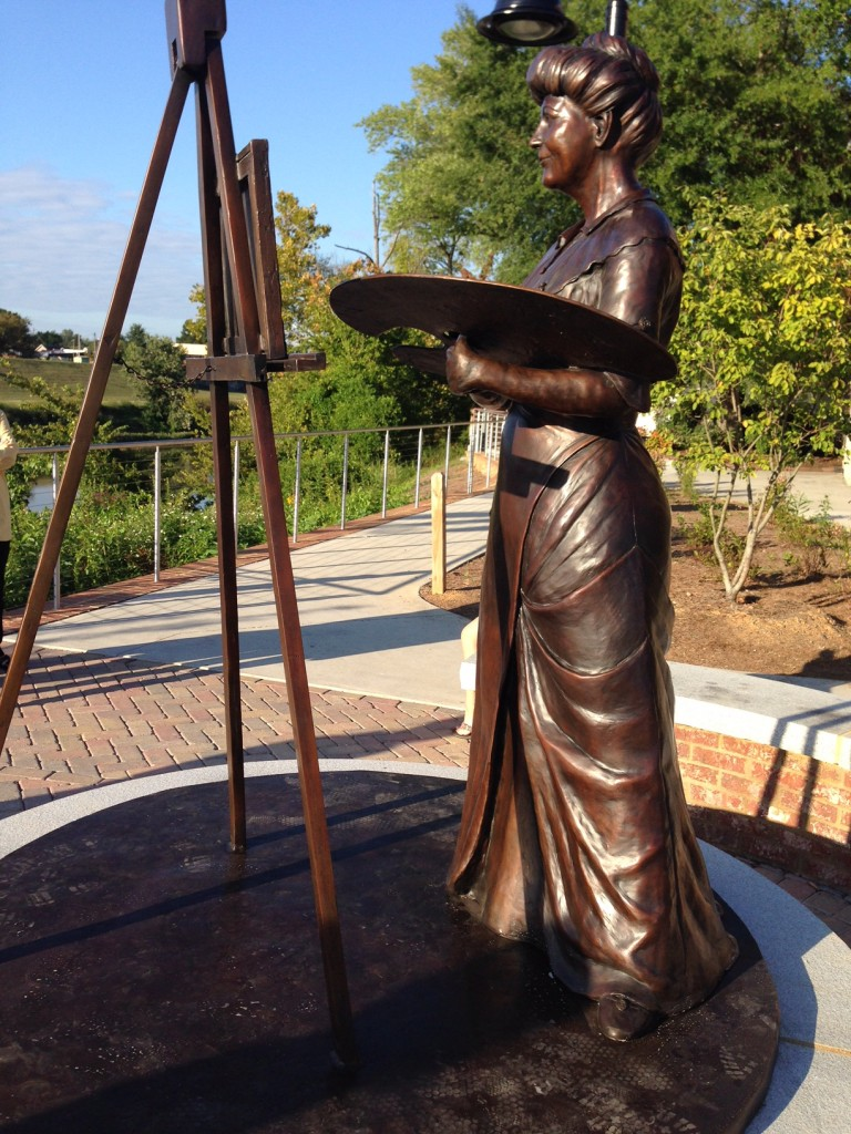 Bronze Staue First Lady Ellen Wilson