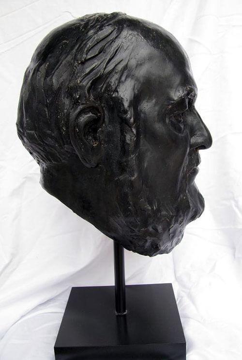 Bronze Sculpture Statue Art by Sculptor Artist Stephanie Hunter image of James Parady