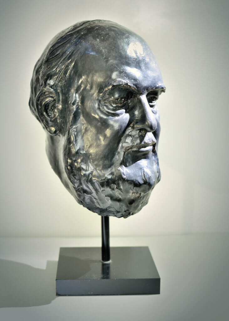 Custom Bronze Postrait Sculpture Statue Art by Sculptor Artist Stephanie Hunter image of James Parady