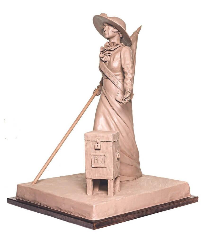 Frances Munds Suffrage Statue