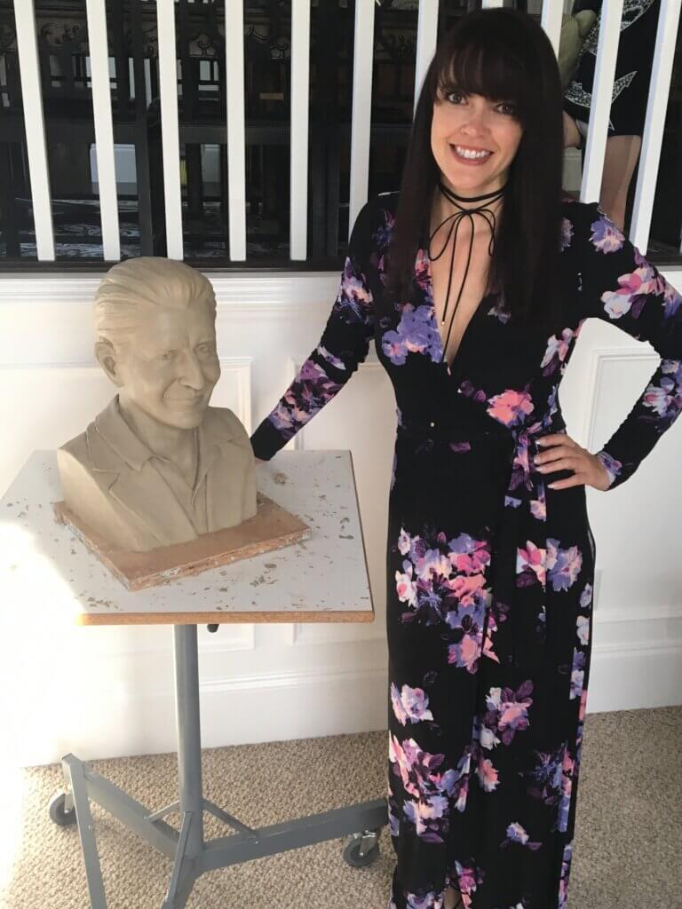 sculptor artist Stephanie Hunter